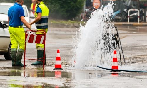 Infrastructure Pipe Burst