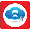 Infrastructure Cloud Services Icon 2