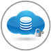 Infrastructure Cloud Services Icon